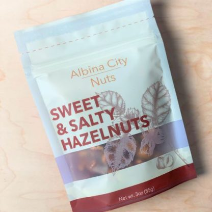 Albina City Sweet & Salty Hazelnuts