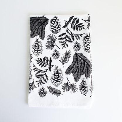 Evergreen Tea Towel