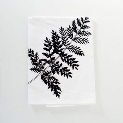Hand-Printed Tea Towel