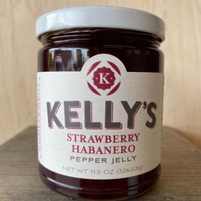 Kelly's Strawberry Habanero Pepper Jelly