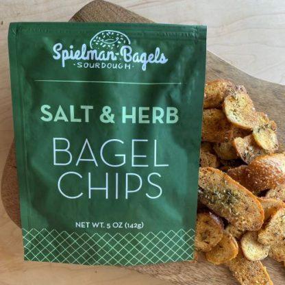 Spielman's Salt & Herb Bagel Chips