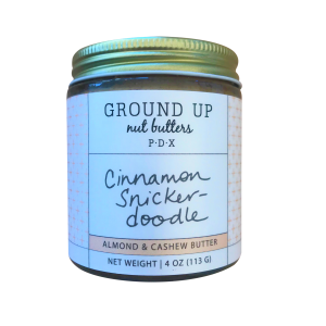 Ground Up Cinnamon Snickerdoodle Nut Butter