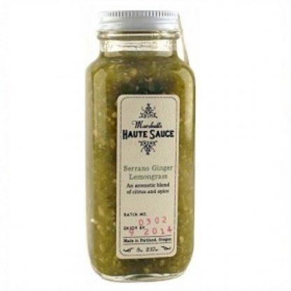 Marshall's Haute Sauce -Serrano Ginger Lemongrass
