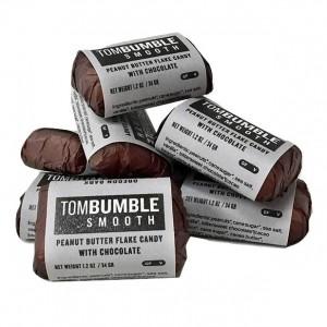 Oregon Bark Tom Bumble Peanut Butter & Chocolate Bar - Smooth