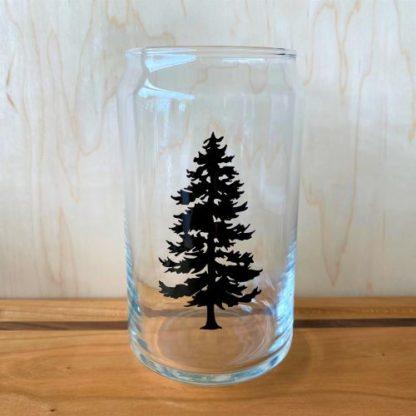 Douglas Fir Pint Glass