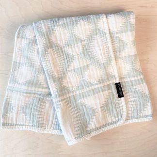 Pendleton Aqua Baby Blanket