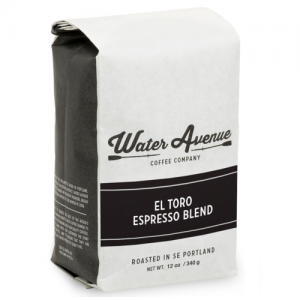 Water Avenue Roasters El Toro Dark Roast