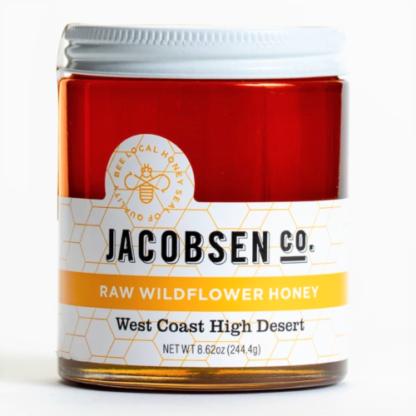 Jacobsen Raw Wildflower Honey