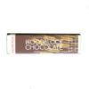 Woodblock Malted Milk Chocolate Bar