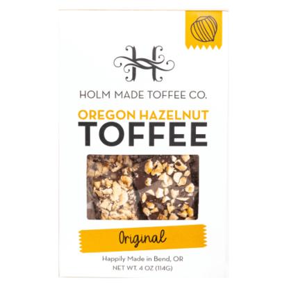 Holm Made Oregon Hazelnut Toffee