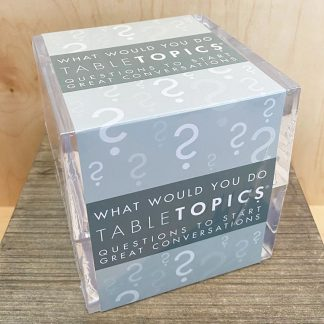 What Would You Do? Table Topics Question Game