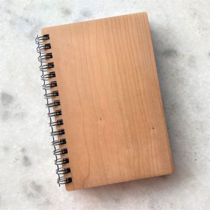 Journal with Cherry Wood Cover