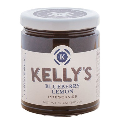 Kelly's Blueberry Lemon Preserves