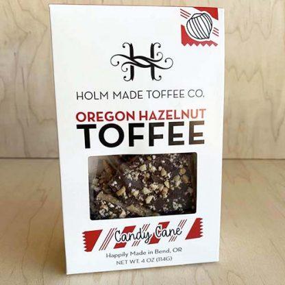 Holm Made Oregon Hazelnut Toffee - Candy Cane