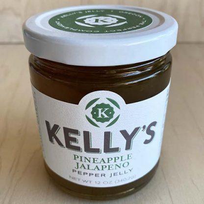 Kelly's Pineapple Jalapeno Pepper Jelly