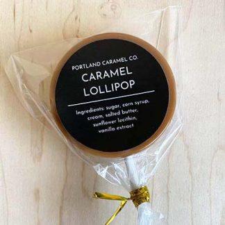Portland Caramel Co Caramel Lollipop